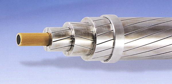 Провод  марки АССС с композитным сердечником